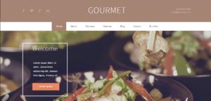 AIT šablona Gourmet